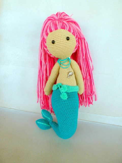 mermaid doll crochet pattern