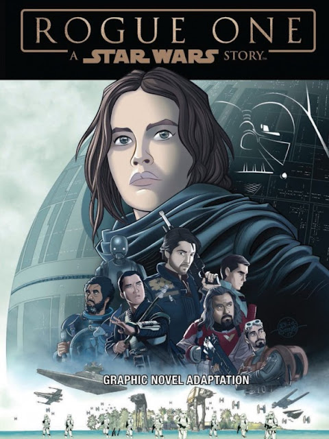 "adaptación cómic de ""Star Wars: Rogue One"" - IDW"