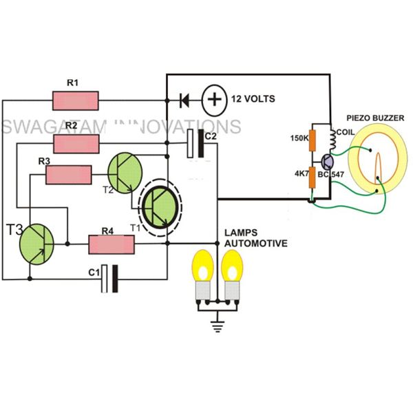 5 Pin Led Flasher Relay Wiring Diagram 1991 Bluebird Bus Simple Hobby Electronic Circuits | Circuit Centre