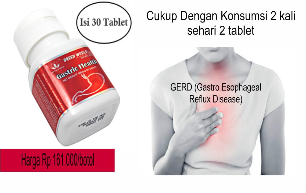Obat Penyakit GERD Herbal Tradisional