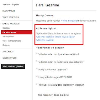 Youtube Kanala Adsense Bağlamak