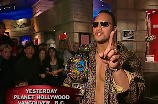 WWE / WWF Rock Bottom 98 - In Your House 26 - The Rock at Planet Hollywood