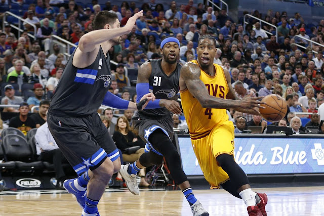 LeBron James leads Cavaliers past Orlando Magic 116-104