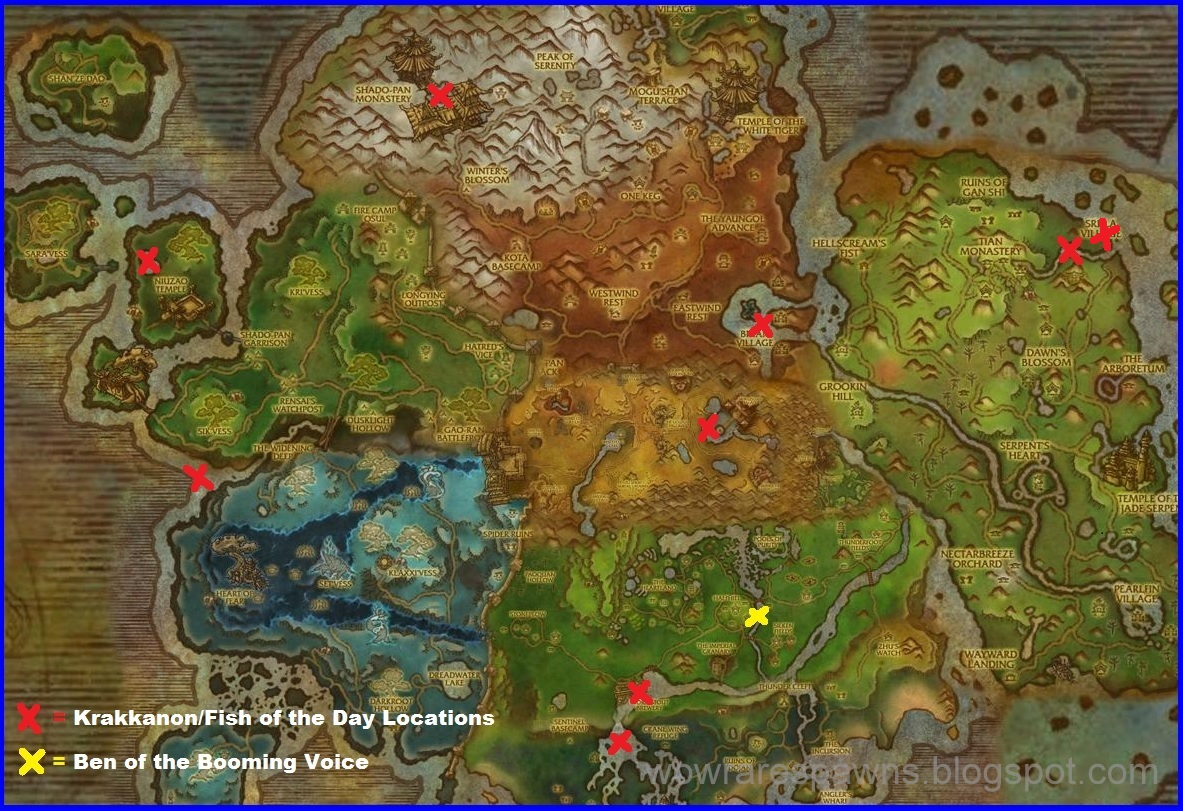 Elders Of Northrend Map Alliance