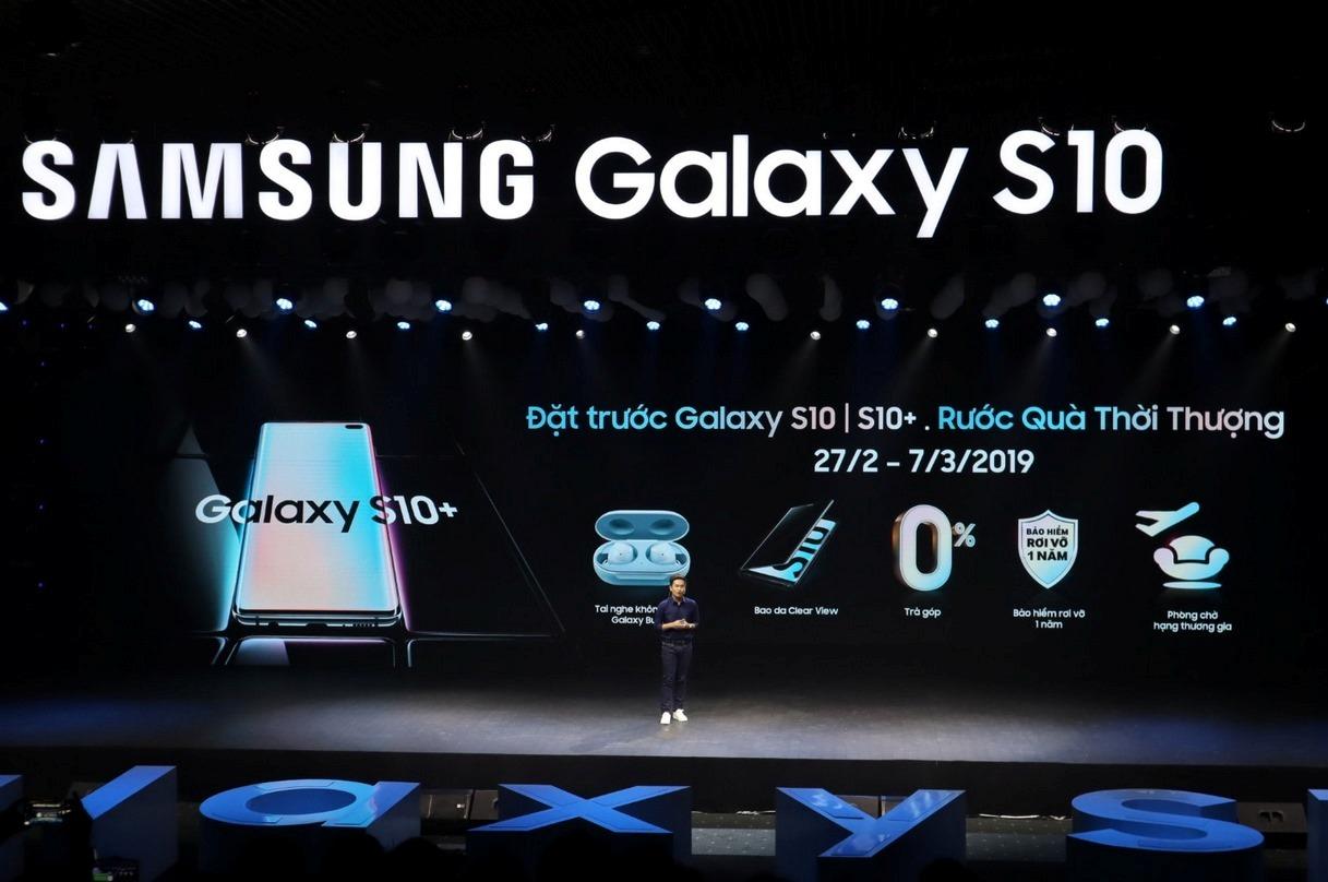 Samsung công bố giá bán chính thức dòng điện thoại di động Galaxy S10 tại Việt Nam zamoss