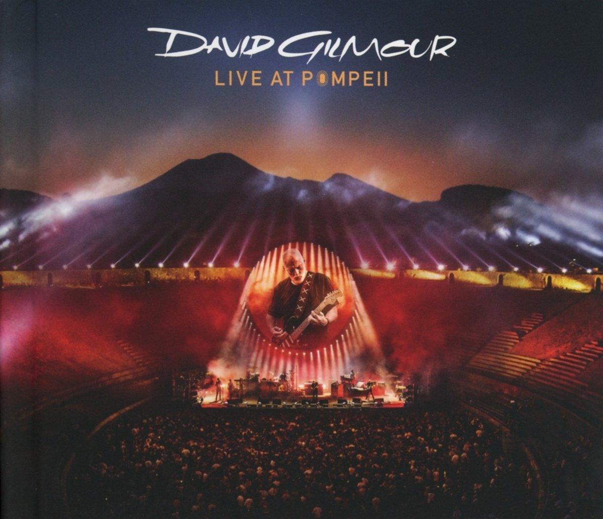 New Album Releases Live At Pompeii David Gilmour The