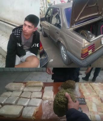 Guarda Municipal de Vila Velha (ES) detém traficante com drogas avaliadas em R$ 160 mil