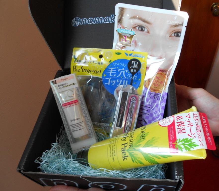 Japanese beauty box nmnl box July 2017