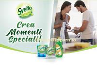 Logo Svelto crea momenti speciali: come premio certi richiedi buoni spesa da 6,00€