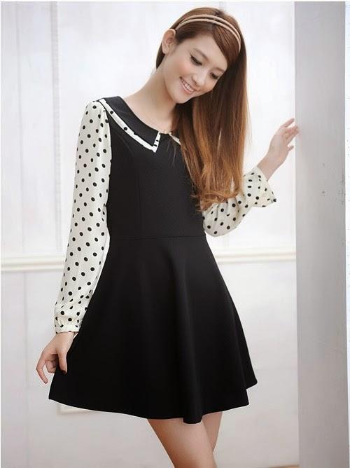 baju dress korea terbaru