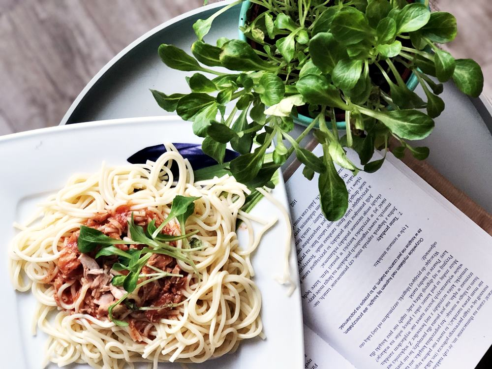 przepis na spaghetti z tuńczykiem
