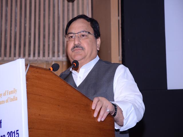 Indian Health Ministry 2019 -JP Nadda