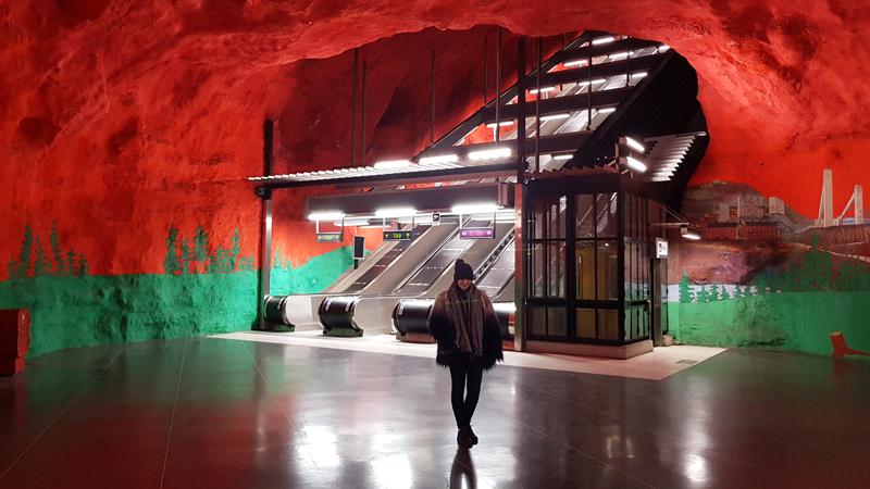 Solna Subway Station