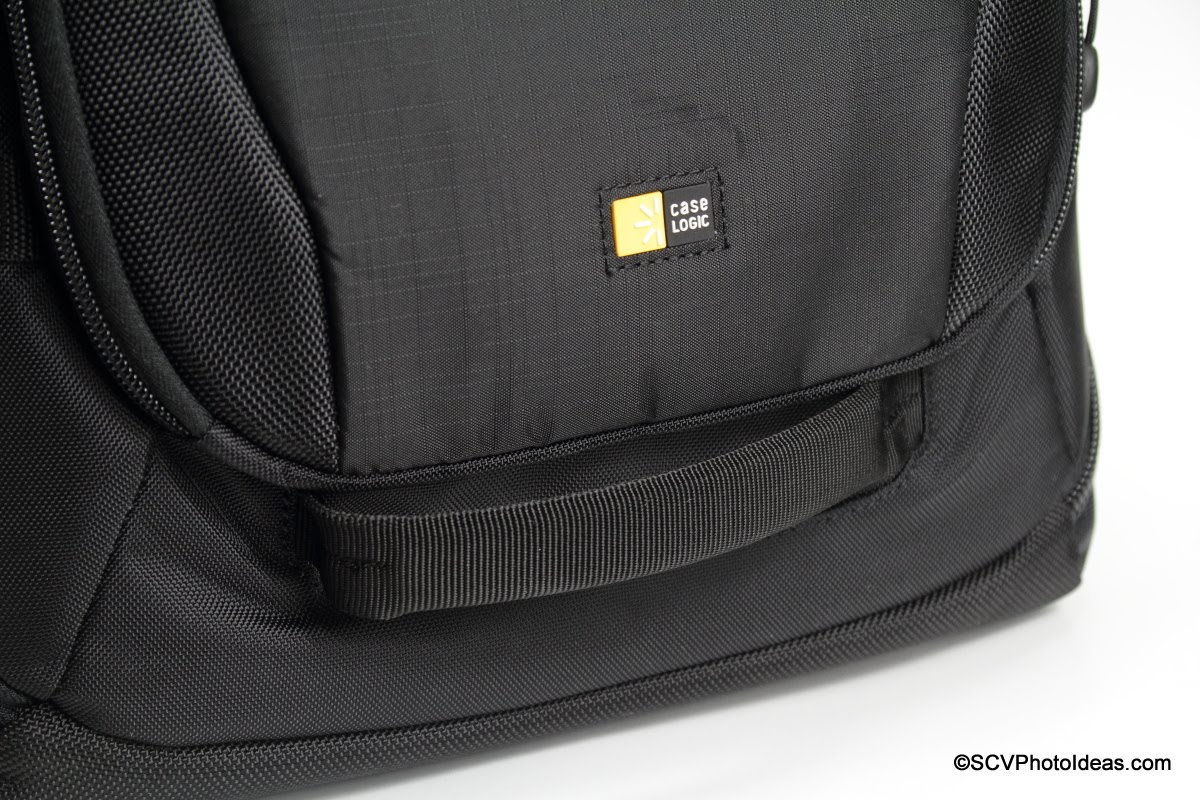 Case Logic DSB-103 front handle detail