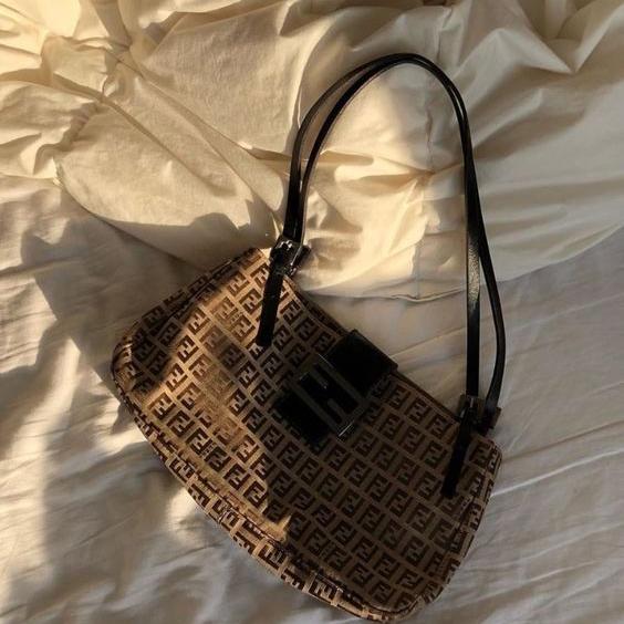 Vintage Fendi bag | accessories, bags, decor, inspiration, sunlight, chic style, baroque, romantic, vintage, feminine | Allegory of Vanity
