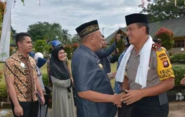 Bupati Kubu Raya Bersama Kapolda Kalbar Kunjungi Pondok Pesantren Darul Ulum Kuala Dua Kecamatan Rasau