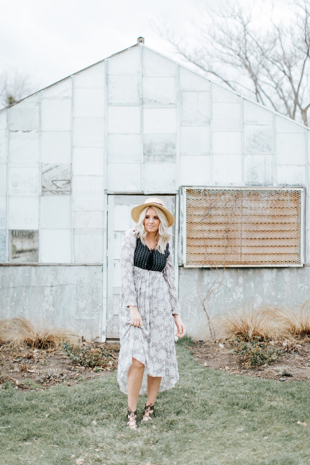 Fashion Blogger, Hi Low Dress, Spring Outfit
