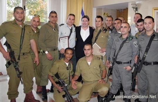 Soldados cristianos en Ejército de Israel