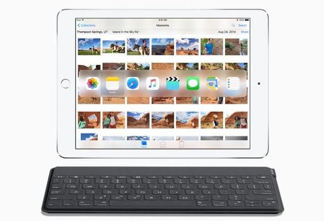 Novos recursos de hardware do teclado para o iPad em iOS 9 torná-lo mais fácil do que nunca para alternar aplicativos e atalhos de acesso, tornando assim o tablet da Apple mais parecido com um computador tradicional