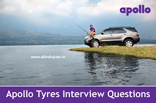 Apollo Tyres Interview Questions