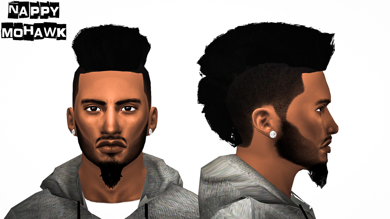 Awesome The Sims 4 Curly Fade Free Image Hairstyle Inspiration Daily Dogsangcom