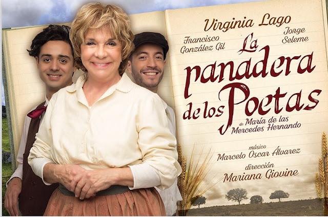 """VIRGINIA LAGO vuelve al teatro en una historia conmovedora con """"La panadera de los poetas"""""""