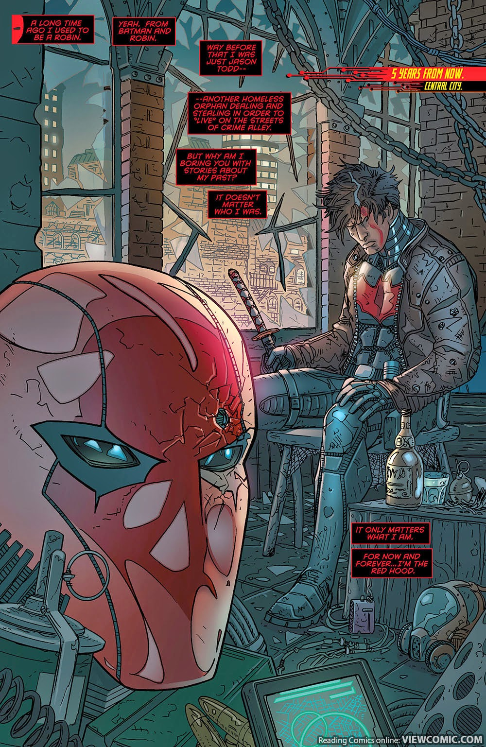 Red Hood and the Outlaws Futures End 001 (2014) | Viewcomic reading