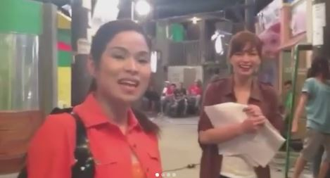 Throwback To The Day Angel Locsin Showed A Priceless Reaction When Jennie Gabriel Impersonated Her