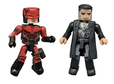 San Diego Comic-Con 2016 Exclusive Daredevil Television Series Minimates 2 Pack by Diamond Select Toys – Daredevil & The Punisher