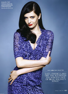 Eva Green Photos InStyle Magazine June 2011