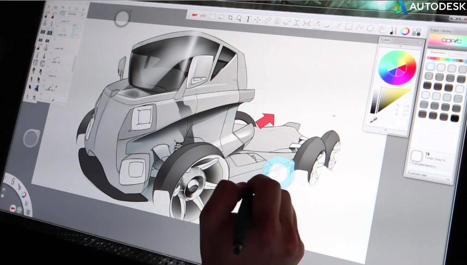 Autodesk sketchbook Pro 2015 rar