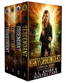 The Kacy Chronicles: The Complete Series - a portal-fantasy book series written for anyone who has ever wished for wings by AL Knorr & Martha Carr