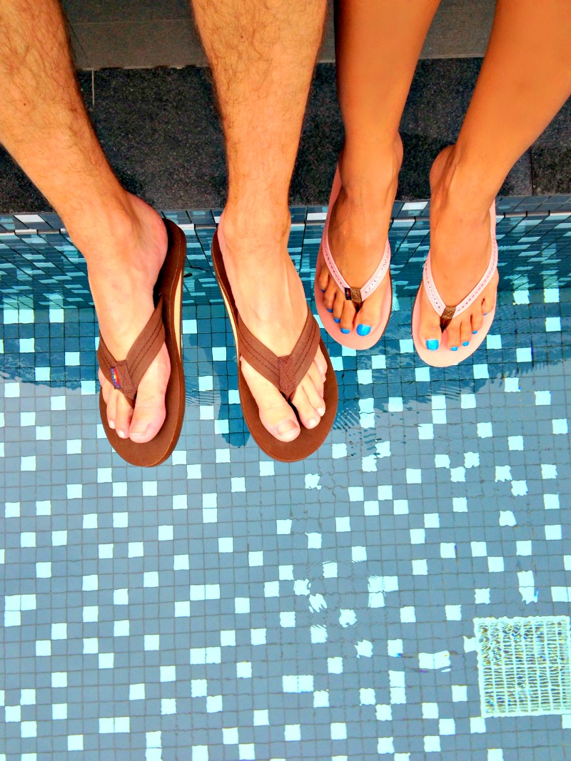 49da7495dc7f A Thing (or Two) About Holly Jean  Our Rainbow Sandals!