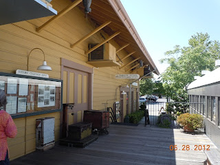 calistoga california train depot