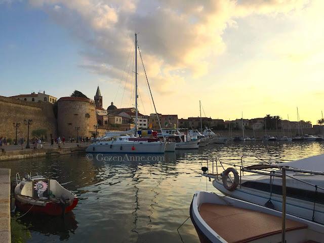 Sardinia Alghero old town
