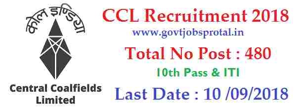 ccl recruitment 2018