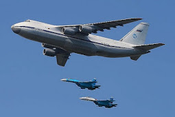 Wow! S-300 Rusia Diangkut Pesawat Terbesar di Dunia ke Suriah