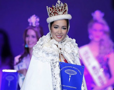 Miss Philippines Bea Rose Santiago won Miss International 2013