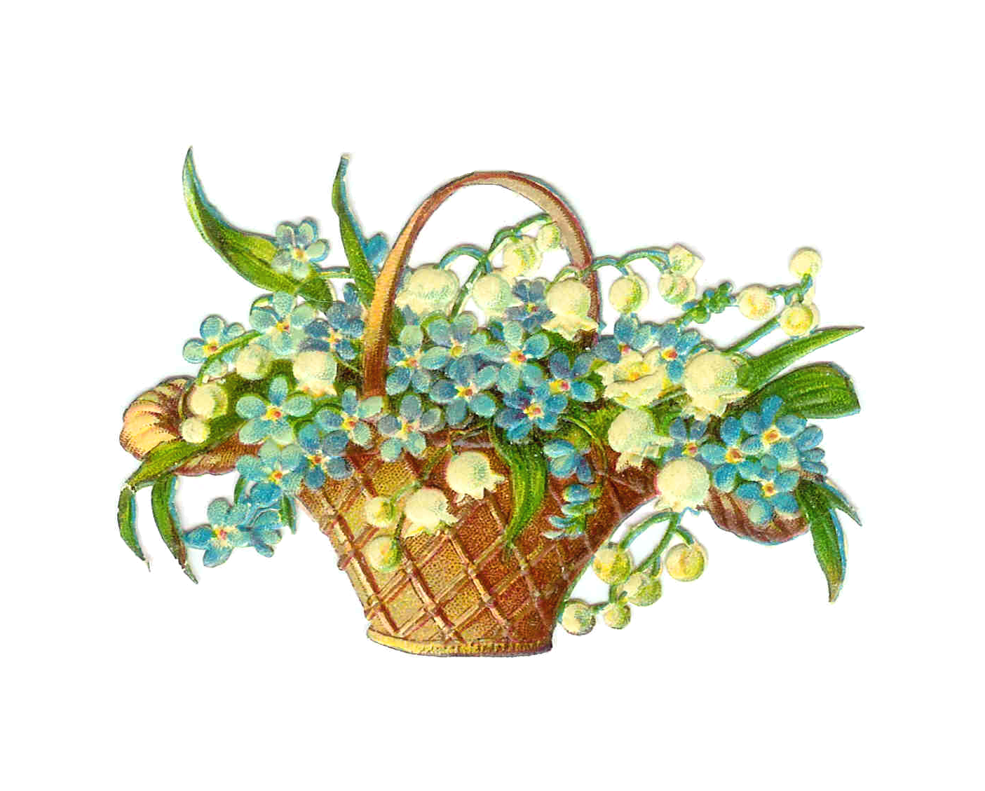 clip art for easter baskets - photo #47