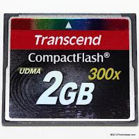 Transcend Compact Flash II UDMA 300x 2GB Ref