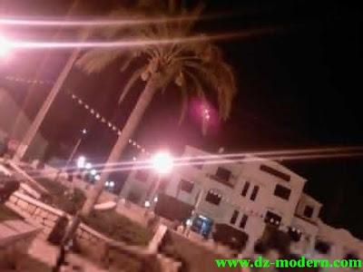 صور مقر بلدية عمي موسى ولاية غليزان اثناء الليل photo ammi moussa relizane