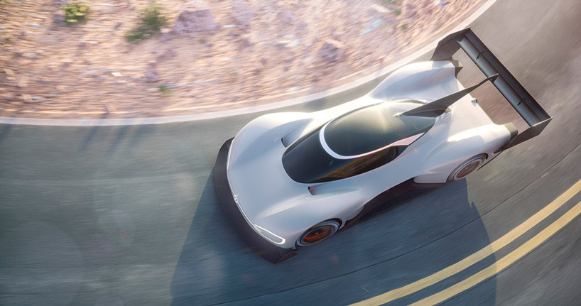 Volkswagen Unveils Electric Racer Built To Break Pike Peaks Records