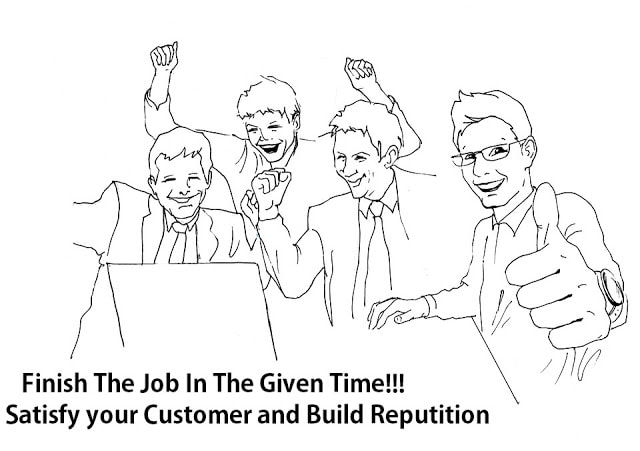 finish the job in the given time