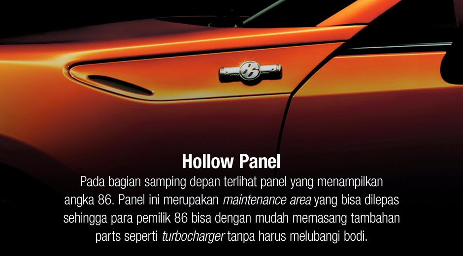 ft86 hollow panel