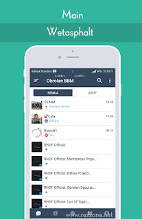 Download BBM Mod Wetasphalt v1.8 Apk Update Bas