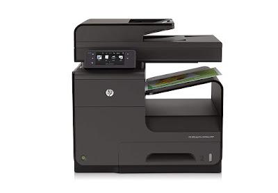 dw Office Printer alongside Wireless Network Printing HP Officejet Pro X576dw Driver Downloads