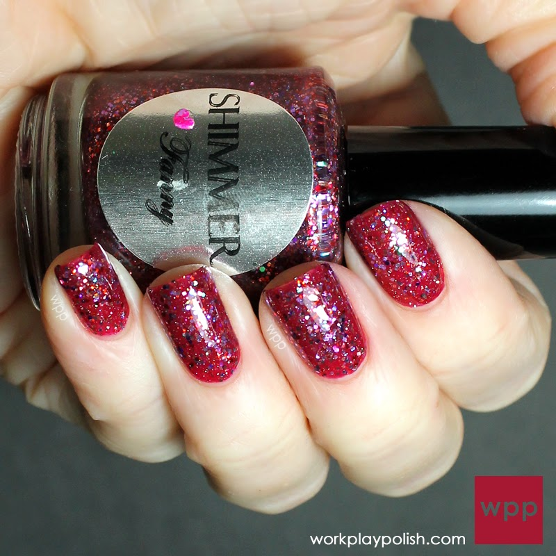 Shimmer Fanny over Dior Graphic Berry