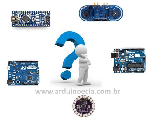 Qual placa Arduino comprar ?