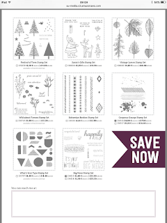 20% off select stamps. 16-20 Nov 2015
