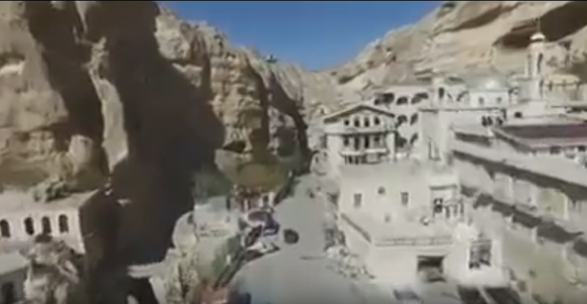Syria S Ministry Of Tourism Posts Video Of Rescued Christian City